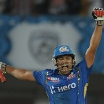 A stunning ton by Rohit Sharma conquered Kolkat Knight Riders