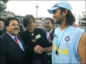 SRK and MSD, the brands of KKR and CSK respectively