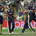 Kolkata Knight Riders squeezed Pune Warriors