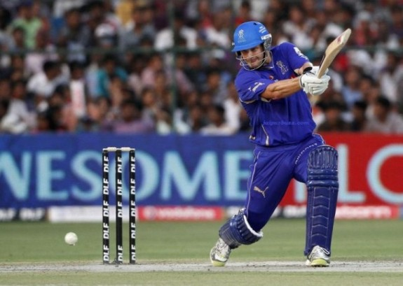 Shane Watson - Toyed with the bowling of Pune Warriors by plundering 90 off 51 balls