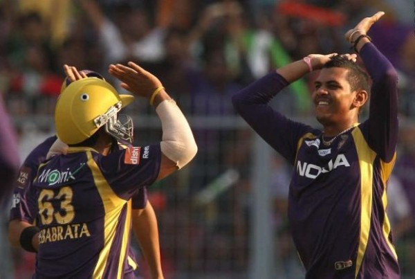 Sunil Narine - 'Player of the match' for his excellent bolwing spell of 4-1-13-1