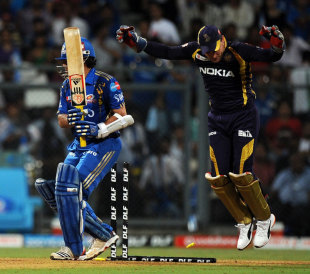 Sachin Tendulkar bowled by Sunil Narine