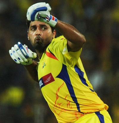 Murali Vijay celebrates after his hundred against Delhi