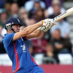 The young gun Alex Hales fired at West Indies as England won the exciting T20