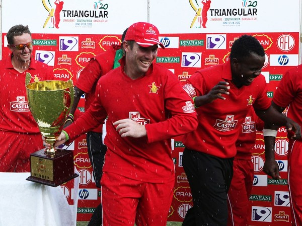 Brendon Taylor - Led Zimbabwe from the front by smashing unbeaten 59 runs in the final