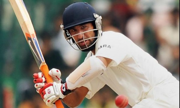 Cheteshwar Pujara - The skipper and only consistent batsman in the series