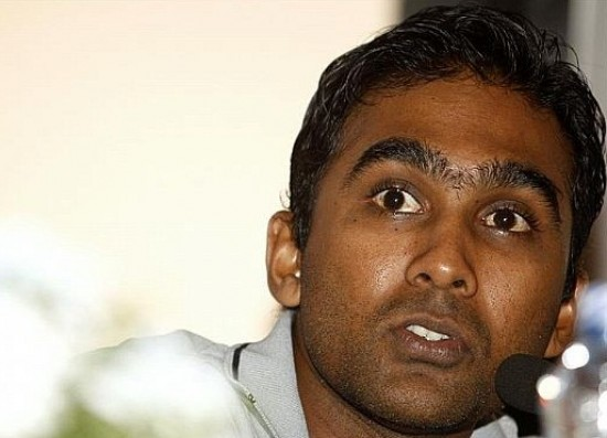 Mahela Jayawardene - unhappy with the top order batting