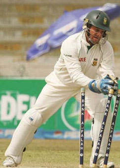Mark Boucher, the best wicketkeeper in the world