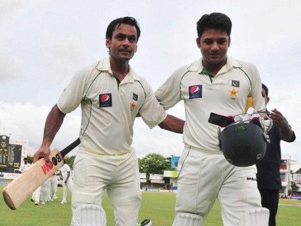 Mohammad Hafeez and Azhar Ali - Unbroken 256 runs second wicket partnership