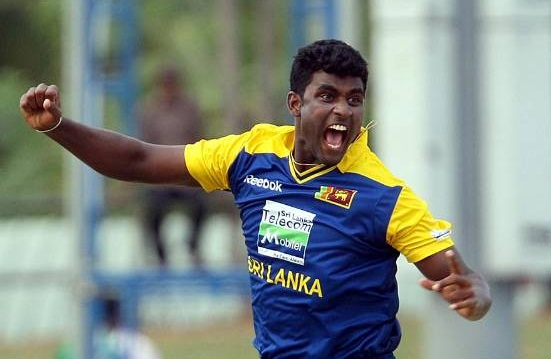 Thisara Perera- Career best bowling figures of 6-44