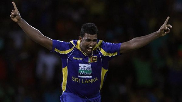 Thisara Perera - destroyed the Pakistani batting with a hat-trick