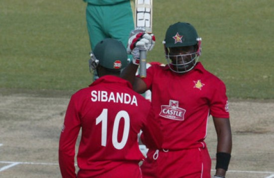 Vusi Sibanda and Hamilton Masakadza - Match winning opening partnership of 114 runs
