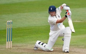 The classical cover drive by Ian Bell
