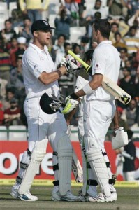 Flintoff and Pietersen
