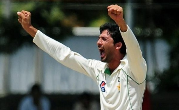 Junaid Khan - &#039;Player of the match&#039; for grabbing 5 wickets in the 1st innings
