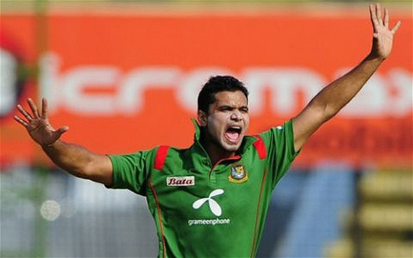 Mashrafe Mortaza - &#039;Player of the match&#039; for his scintillating all-round performance