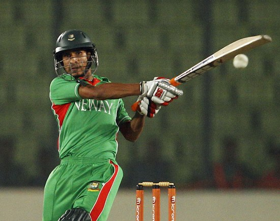 Nasir Hossain - A glorious unbeaten Knock of 50