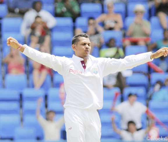 Sunil Narine - first 5 wickets haul in Test cricket