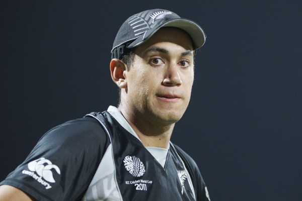 Ross Taylor - Will lead the Black Caps in the ICC World Cup T20