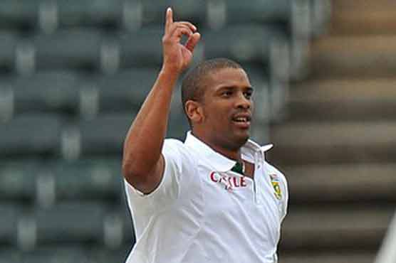 Vernon Philander - 'Player of the match' for his all round performance
