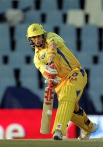 George Bailey playing for CSK in the IPL