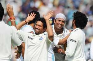 Laxman again made India laugh when they were crying at Mohali in 2010