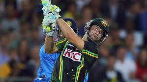 Wade against India in a T20 in Sydney in Jan 2012