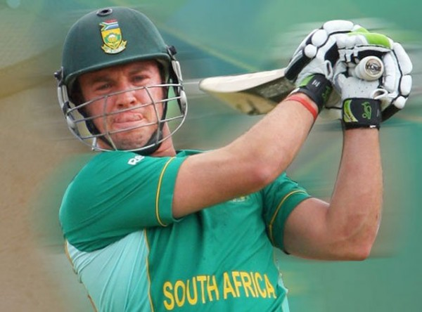 AB de Villiers - Leads the spirited South Africa into the Super Eights