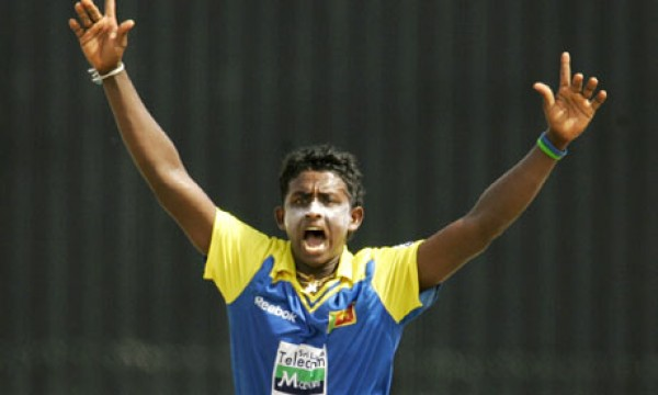 Ajantha Mendis - Created history by grabbing 6 wickets for 8 mere runs