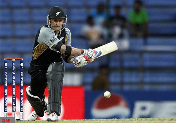 Brendon McCullum - A herculean knock of 123 from 58 balls