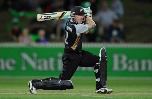 Brendon McCullum - A stromy knock of 91 runs