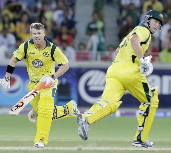 David Warner and Shane Watson - A thundering opening partnership of 111 runs