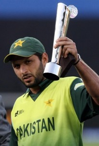 Shahid Afridi, the man of the series in World T20 2007