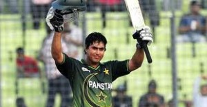 Jamshed after scoring an ODI hundred this year