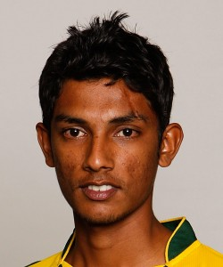 Raza Hasan, the 20 year old left arm spinner