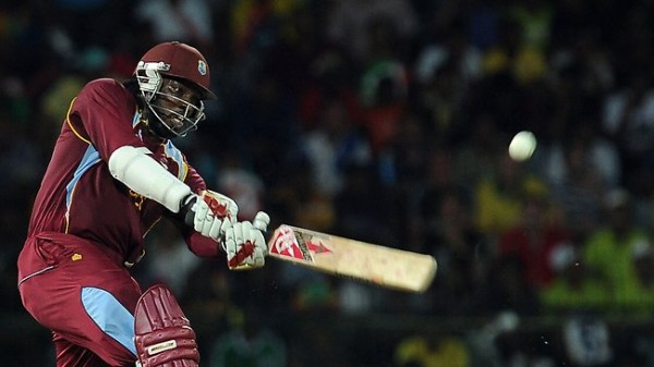Chris Gayle - Murdered the Australian bowling with his fiery unbeaten 75 runs