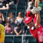 Moises Henriques lifted Sydney Sixers to victory vs. Chennai Super Kings