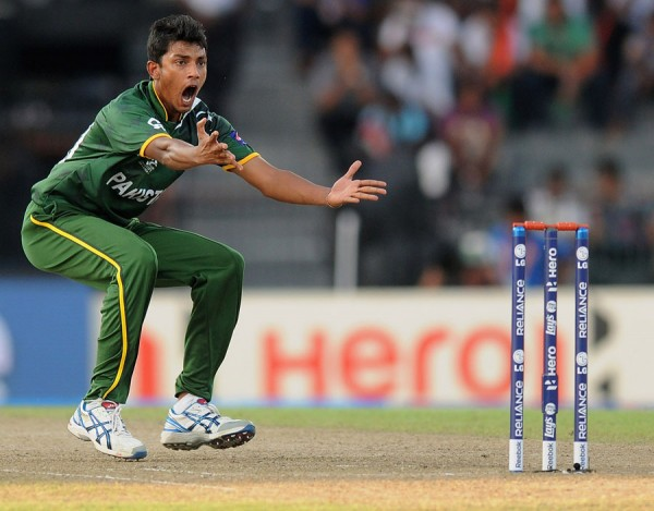 Raza Hasan - 'Player of the match' for his excellent bowling spell