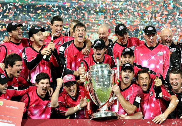 Sydney Sixers - The winners of the Champions League Twenty20