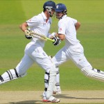 Alastair Cook and Kevin Pietersen stabilized England