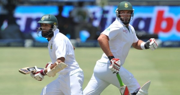 Hashim Amla and Jacques Kallis - Another match winning partnership in progress