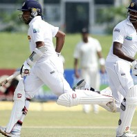 Mahela Jayawardene and Angelo Mathews - 156 runs match saving partnership