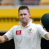 Michael Clarke - Show of power from the skipper