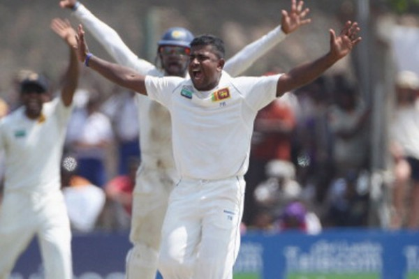 Rangana Herath - 'Player of the match' for his outstanding spin bowling