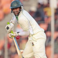 Shakib Al Hasan - Missed another Test ton by just three runs