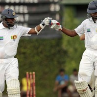 Thilan Samaraweera and Suraj Randiv - A match saving 97 runs partnership