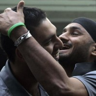 Yuvraj Singh and Harbhajan Singh - Back in the Indian squad