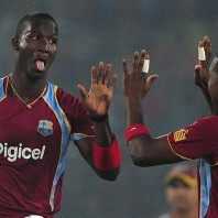 Darren Sammy - 'Player of the match' for his all-round performance