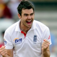 James Anderson - Destroyed the India top order batting