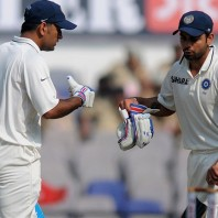 MS Dhoni and Virat Kohli - Match saving partnership of 198 runs